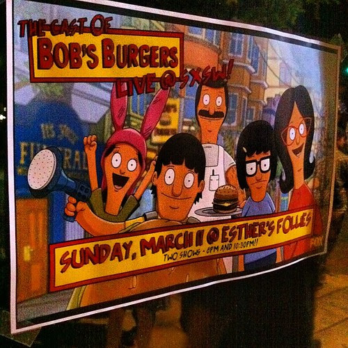 The Cast of Bobs Burgers at SXSW