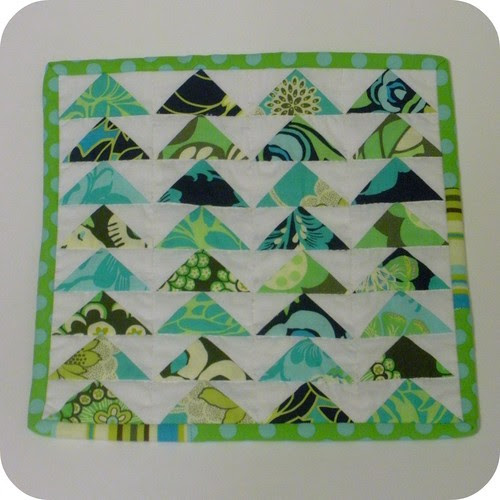 Flying Geese Mini Quilt