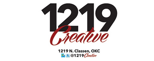 The End of 1219 Creative at 12th & Classen Blvd.