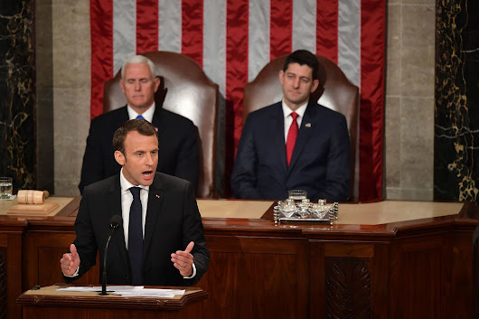 Macron tells Congress of 'special' bond between France, U.S.