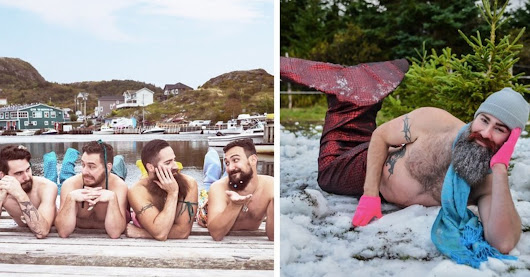 This Dudeoir Calendar Of Bearded Mermen Is Absolute Perfection | HuffPost