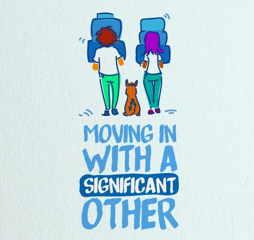 Moving in with a Significant Other [Infographic]