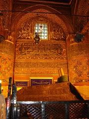 Makam Maulana Jalaluddin Rumi Di Mevlana Museum, Konya, Turkey