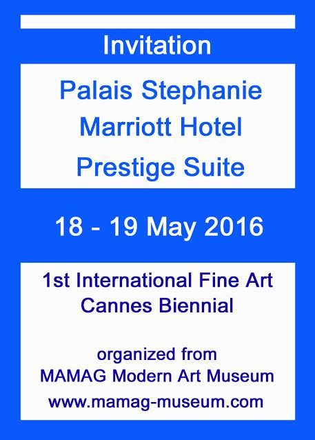 Welcome in Cannes for the First International Fine Art Biennal