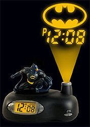 Batman Projection Alarm Clock (Image courtesy What on Earth)