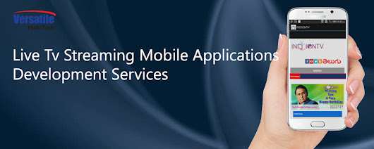 Best Live TV Streaming Mobile Applications Development Services in London