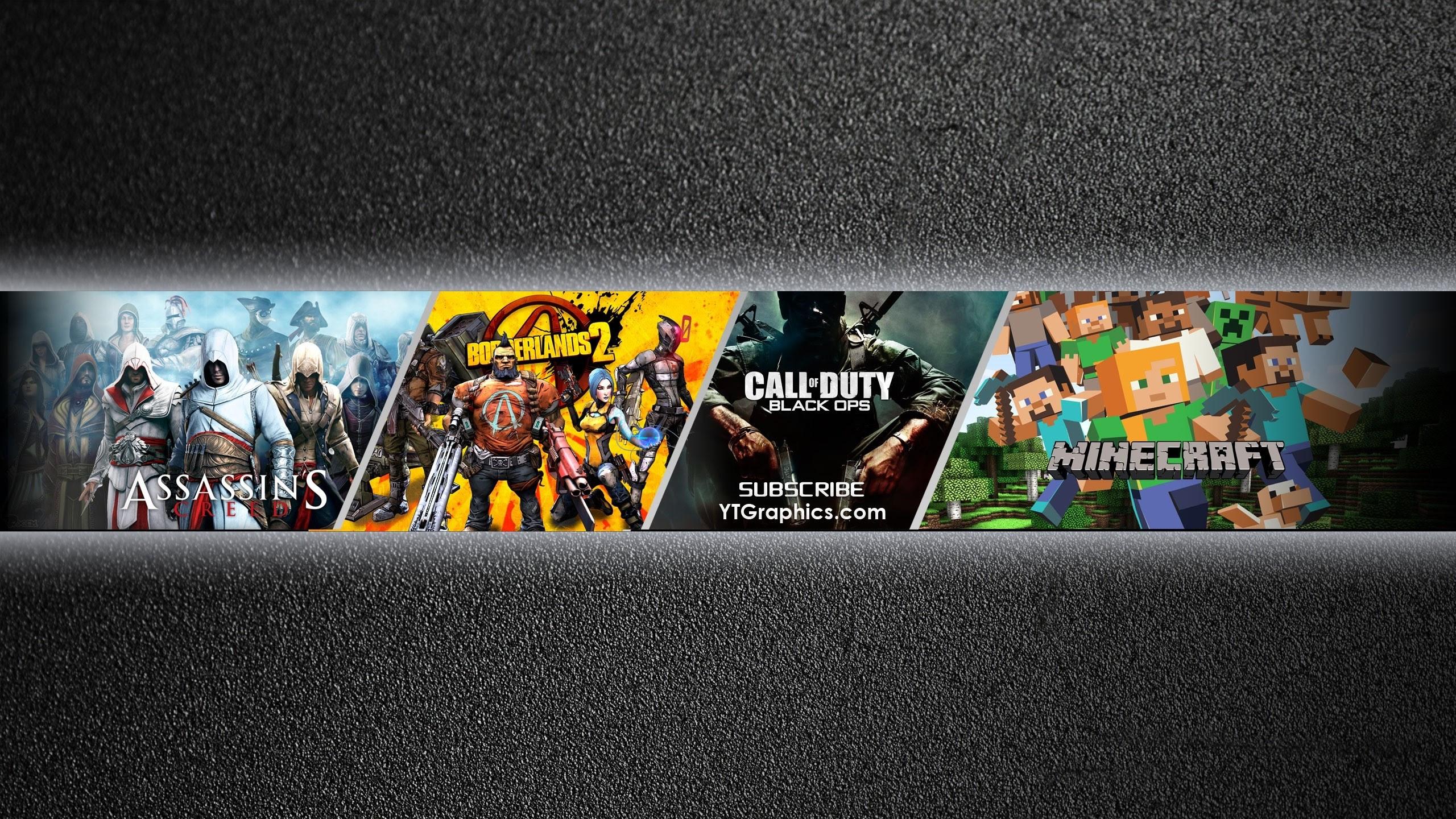 Keren Youtube Banner Gaming Background 2560x1440 Erlie Decor