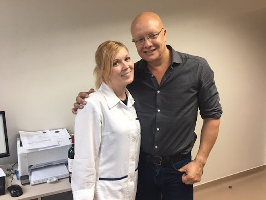 Gaetan spent a week at our dental clinic | MDental Hungary