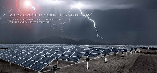 Solar Ground Mounting Structure Systems | Solar Mounting Structure Manufacturer