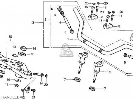Honda Vt600cd Shadow Vlx Deluxe 1998 Usa parts list ...
