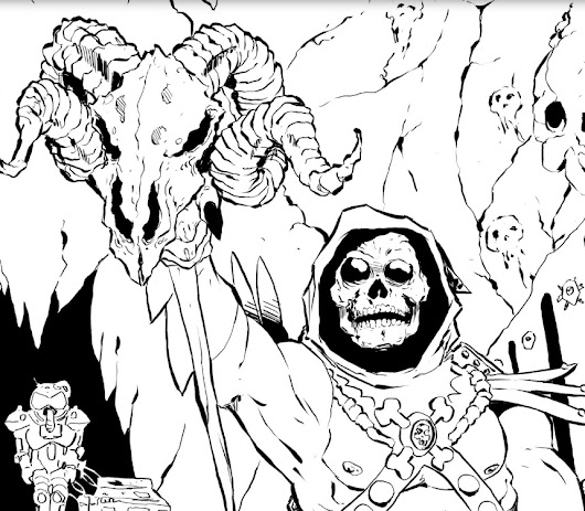 Skeletor in Castle Grayskull