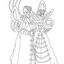 Dibujos Para Colorear Trajes Tradicionales Eshellokidscom