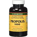 YS Organic Bee Farms Propolis, 1000 mg,  Capsules - 90 count