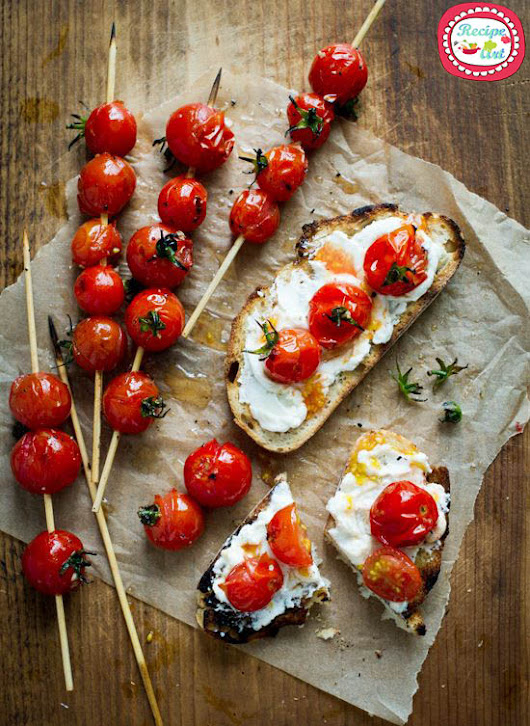 Crostini ai Pomodori Confit | RecipeArt