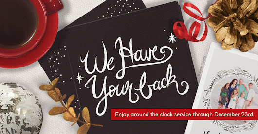 Extended Service Hours, Holiday Ordering & More