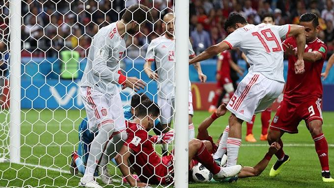 España vence a Irán 1-0 y mantiene sus opciones en el Mundial de Rusia