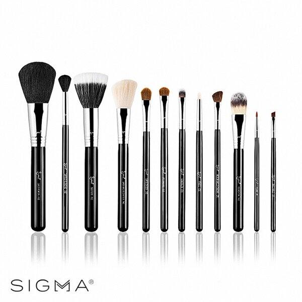 【推薦最省錢的購物商城】Sigma 刷具12件組(含刷具筒)-Make Me Classy Essential Kit - WBK SHOP