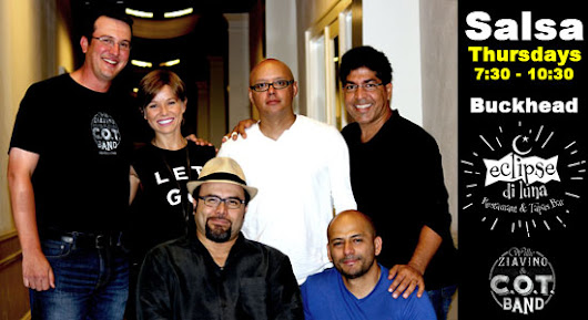 Live Latin Band & Free Salsa Lessons on Thursday Nights in Atlanta (Buckhead)
