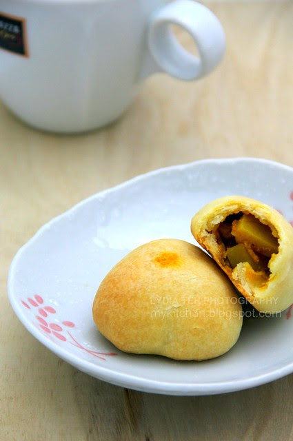 Baked Curry Puff