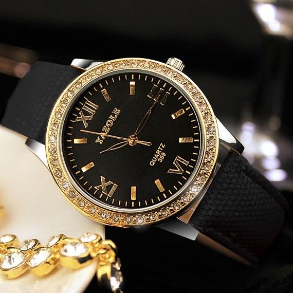 7e299280592 Comprar YAZOLE Ouro Diamante Relógio De Das Senhoras Mulheres Famosa Marca  Luxo Quartzo Pulso Feminino Montre Femme Relogio Baratas Online Preço
