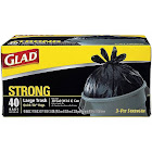 Glad Large 30 gal Trash Bags, Quick-Tie - 40 count