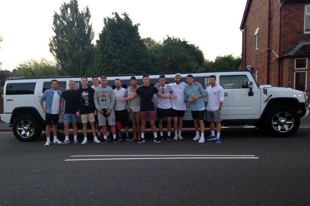 Matt Myles,taking his friends to Ibiza
