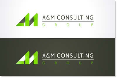Technology consultation group logo design