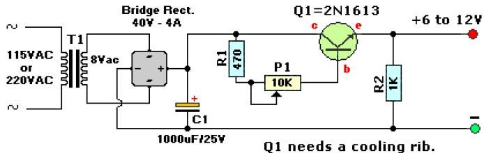 Free Wiring Diagram  12vdc To 9vdc Converter Circuit