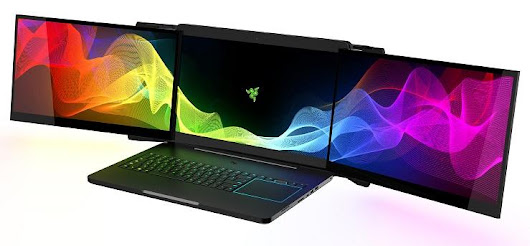 Project Valarie - 3 Screen Razer Laptop Prototype Stolen from CES 2017