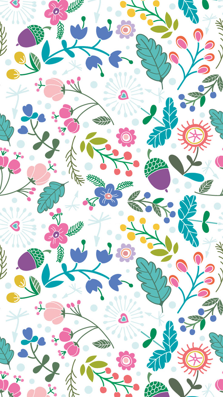 Hello Spring iPhone Wallpaper Collection  Preppy Wallpapers