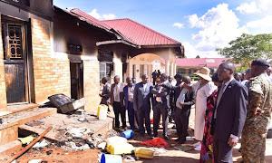 Rakai school fire: students sent home, six arrested