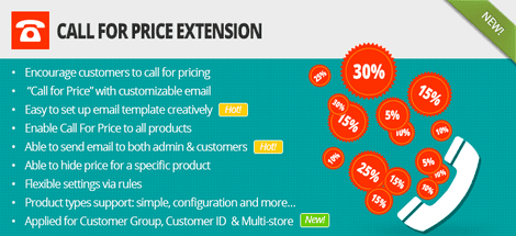 Magento Call For Price Extension