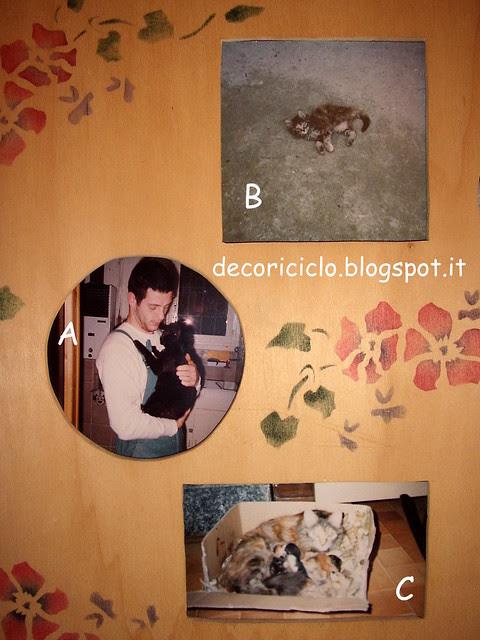 portafoto traforo e stencil 1 - parte sx