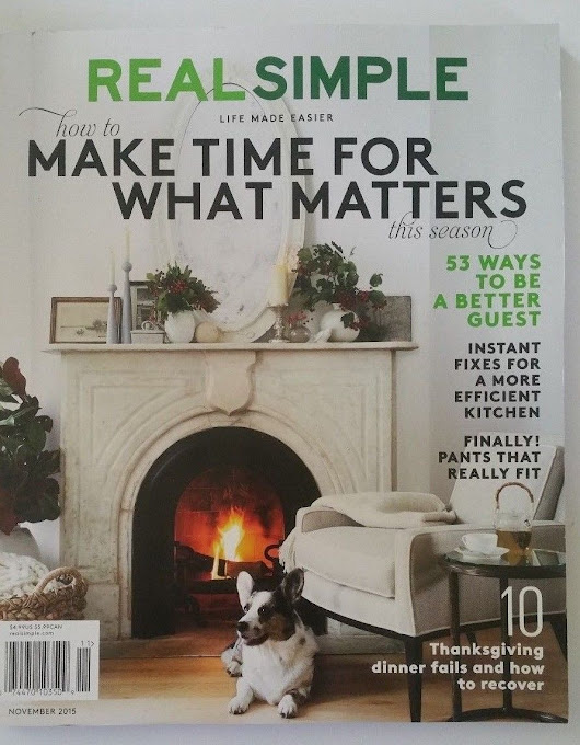 Real Simple One Year Magazine