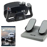 CH Products Basic Flight SIM w/X-Plane 11 DVD Bundle