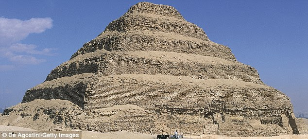 Pyramid of Djoser: Many more are thought to be buried underground. The cameras on the satellites are so powerful that they can precisely image objects on Earth that are less than one metre in diametre