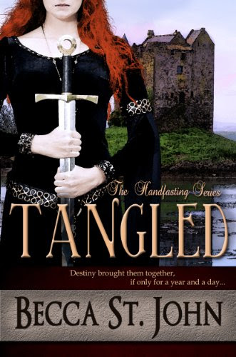 Tangled (The Handfasting) by Becca St. John
