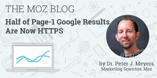Half of Page-1 Google Results Are Now HTTPS - Moz