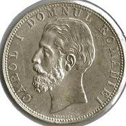 Moneda Carol de la 1881