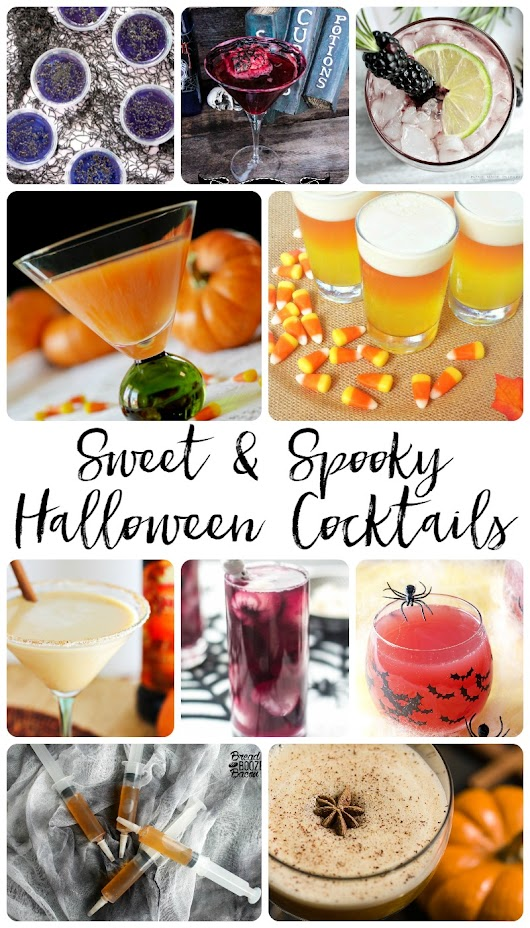 Sweet and Spooky Halloween Cocktails - Andrea Bai