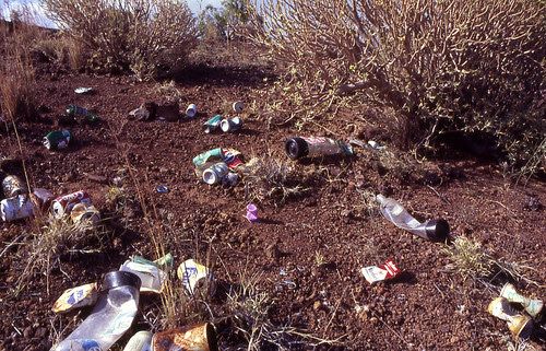 1992. En el borde del cráter, panorama tras la fiesta de El Socorro