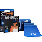 KT Tape Athletic Tape, Elastic, Blue, Pre-Cut Strips