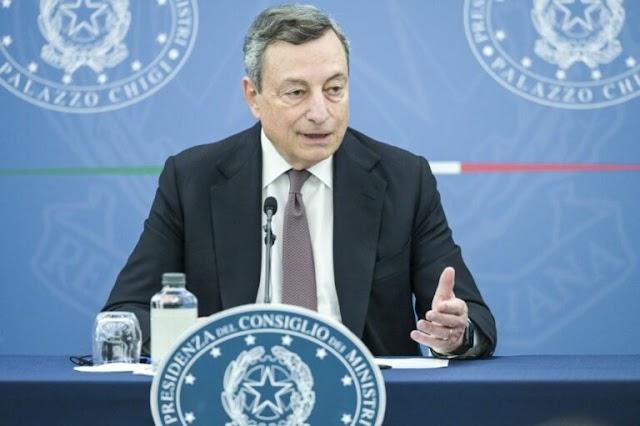 """Sì alla riforma del fisco ma la Lega diserta, Draghi """"Diversità di vedute"""""""