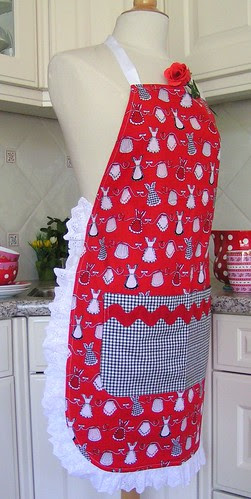 apron made by Sarah