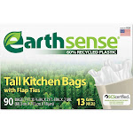 EarthSense Recycled Can Liners (13 gal., 90 ct.)