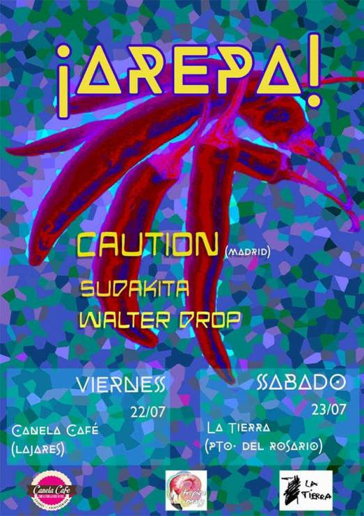 DJ CAUTION, SEGUNDO INVITADO DEL ¡AREPA!