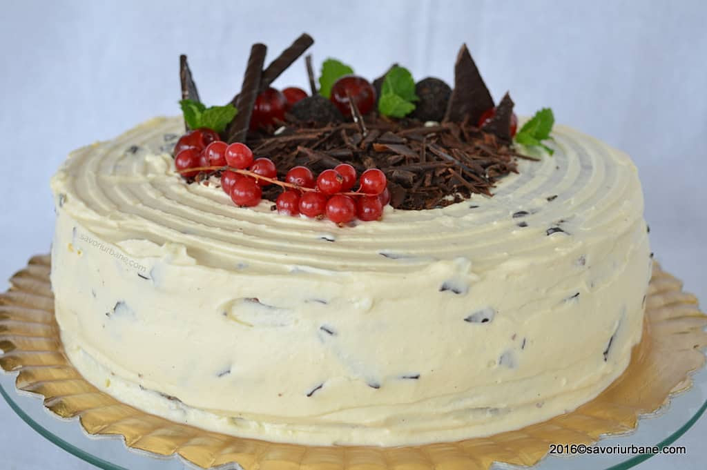 Tort stracciatella crema mascarpone si ciocolata Savori Urbane (1)