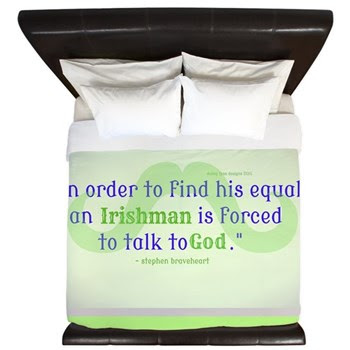 God's Irishman King Duvet