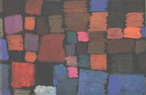 Coming to bloom - Paul Klee