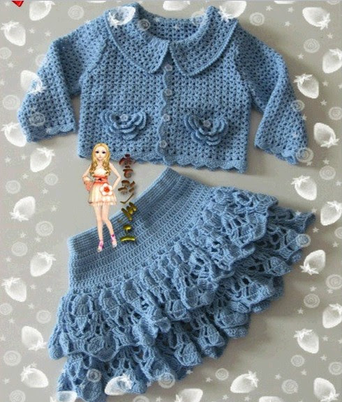 Set-jacket and wide cascade openwork crochet skirt for girls / 4683827_20120622_124704 (490x577, 103Kb)
